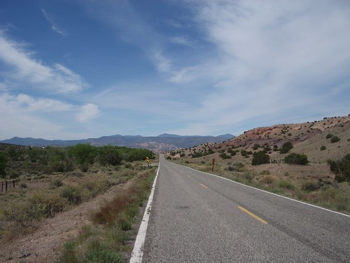 High section between Abiquiu and El Rito