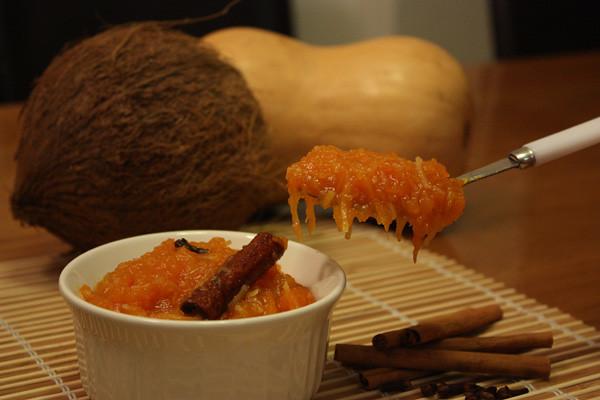 Pumpkin Jam with Coconut