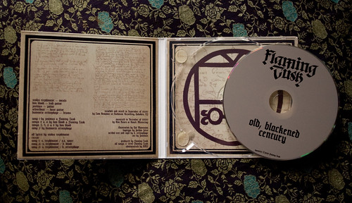 Old, Blackened Century CD inside
