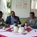 Tea with Minister of Agric