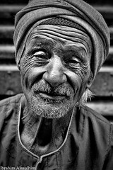 Wrinkles |  (Ibrahim Almulhim ) Tags: old portrait bw man blackwhite egypt cairo wrinkles  canonef50mmf14usm      canoneos50d  ibrahimalmulhim