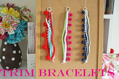 Trim Bracelets par ohsohappytogether