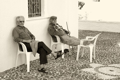 Old Men in Vothonas by Klearchos Kapoutsis, on Flickr