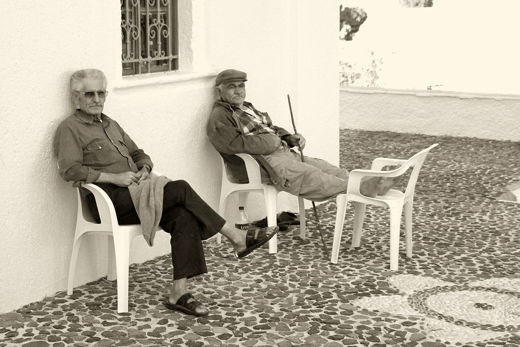 Old Men in Vothonas
