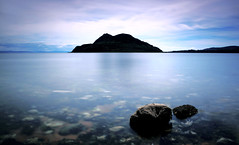 The Rock (-The Wickerman-) Tags: canon landscape 2470mml long exposure holy 5d isle arran lamlash wickerman sescape