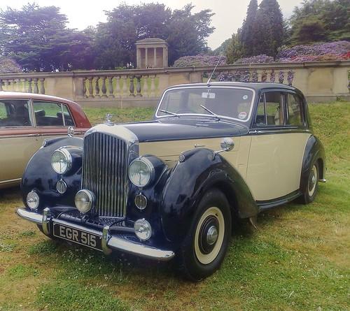 1955 Bentley R-type at Rolls
