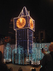 Big Ben in Disney's Electrical Parade. (04/17/2010)