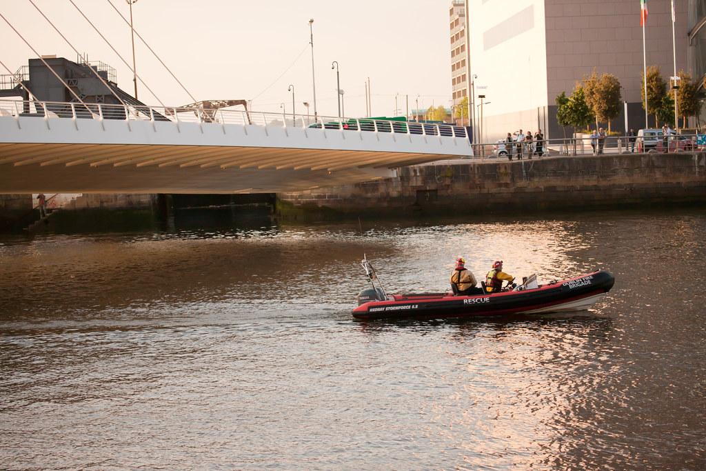 The Samuel Beckett Bridge - Dublin Docklands