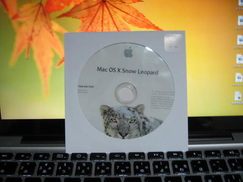Mac OS X 10.6 Snow Leopard install DVD