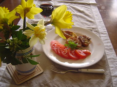 Pain Perdu Savoury Les Trois Chenes Bed and Breakfast Limousin, France (LesTroisChenes) Tags: france bedandbreakfast limousin videix paintingholidays lestroischenes