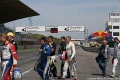 RUPERT SVENDSEN-COOK, WAYNE BOYD, ADDERLY FONG, MARCO WITTMANN, HYWEL LLOYD, EDOARDO MORTARA, STEF DUSSELDORP 001 (smtfhw) Tags: netherlands motorracing motorsport 2010 racingcars zandvoortaanzee formula3 racingdrivers circuitparkzandvoort mastersofformula3