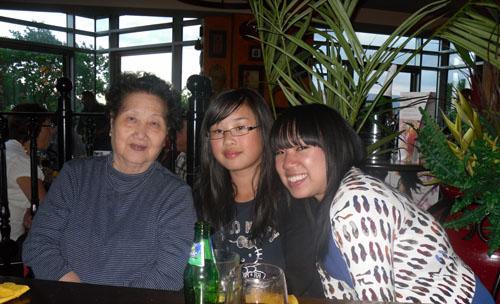 Grandma, Becky and Me.