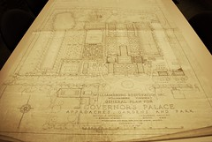 Governor's Palace Gardens (College of William & Mary Law Library) Tags: architecture landscape virginia landscaping drawing blueprint williamsburg colonialwilliamsburg restoration lawlibrary rockefellerlibrary