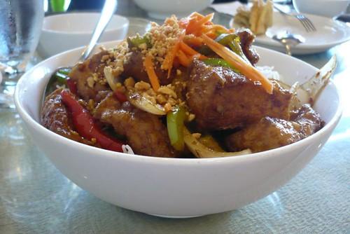 The tofu bowl from lemon grass edmonton