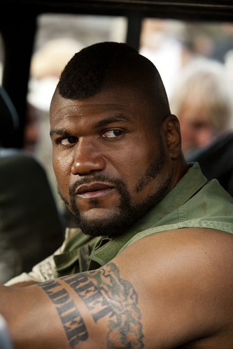 The A-Team (2010) - Quinton 'Rampage' Jackson as B.A. Baracus
