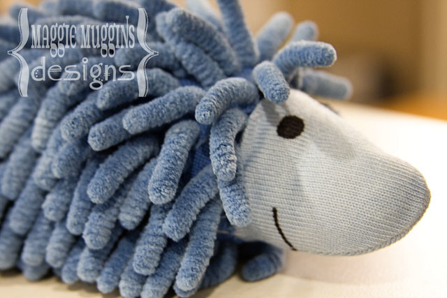 Wash Mitt Hedgehog