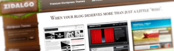 Premium WordPress Themes from Zidalgo.com