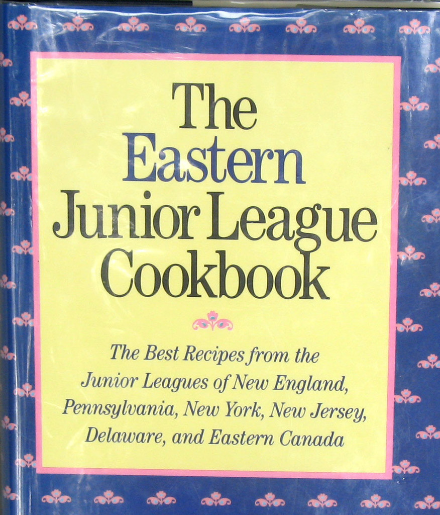 Vintage New England Mid-Atlantic Eastern Canada Cookbook 460 Recipes Junior League Hardcover