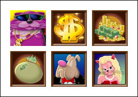 free Fat Cat slot game symbols