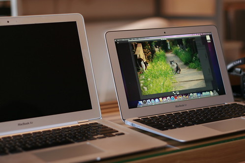 new macbook air 11inch and old macbook air