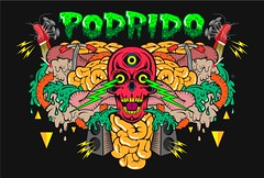 Header podrido (Jk Snchez) Tags: color rock design cool colours fresh hardcore estilo diseo calaveras tripas kitsh craneo piunk fullcolor tocata tokata diseno podrido puagh jk jkosanchez pordidoorg