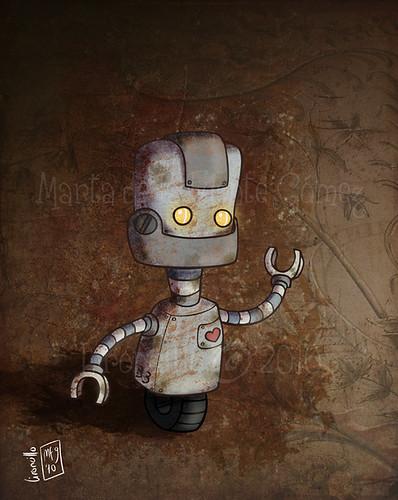 Bicho 007 - robot