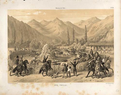 021-Una trilla-Atlas de la historia física y política de Chile-1854-Claudio Gay
