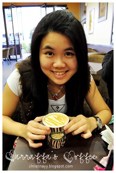 Zarraffa's Coffee: Hot Cappucino