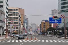 Road near Haeundae