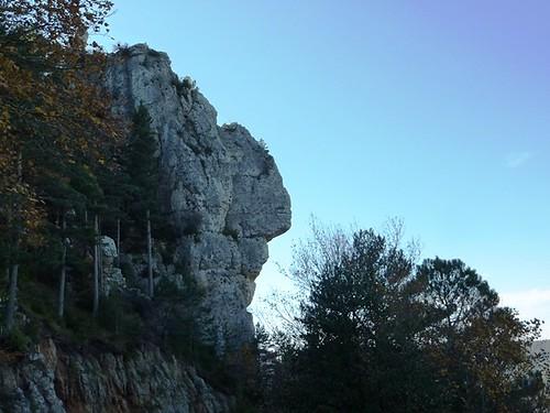Curiosa formacion rocosa