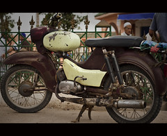 Local Transport III (Robin Elsendoorn) Tags: old classic vintage transport morocco oldtimer local cinematic 50cc simson