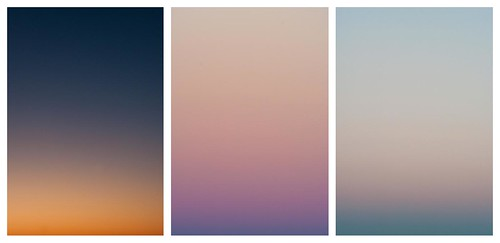 Winter Palettes (sunset colors)