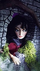 Spying (custombase) Tags: disney classics mothergothel doll tangled villain