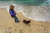 Any day is a good day for the beach (AndreDiener (ALDPhoto)) Tags: germanshepard puppy dog germansheperdpuppy beach dogwalker walkingyourdog