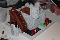 Bjarn-dar Keep: Build Log (soccersnyderi) Tags: lego creation walkthrough build log