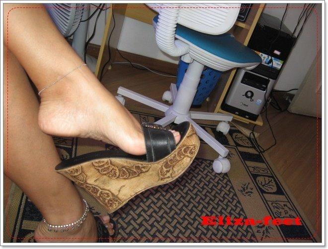 Post Silver Pantyhose Worn Nylon 87