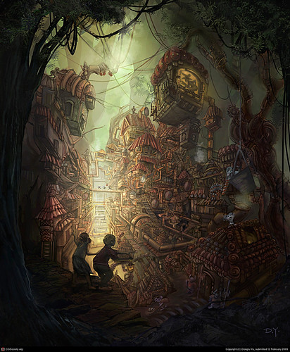 Hansel and Gretel by DongLu Yu