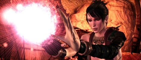 Morrigan from Dragon Age: Origins