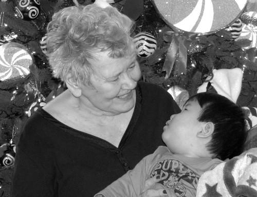 meeting great-grandma 3