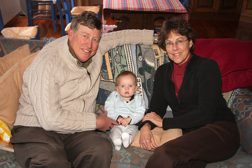 Nora with American Grandparents