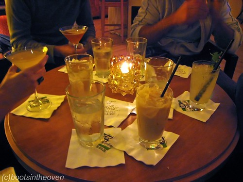 A group of super well-mixed drinks