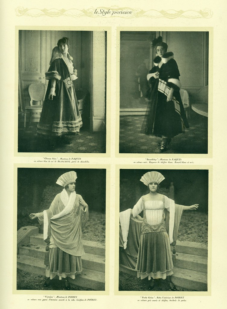Early fashion photography in Le Style Parisien