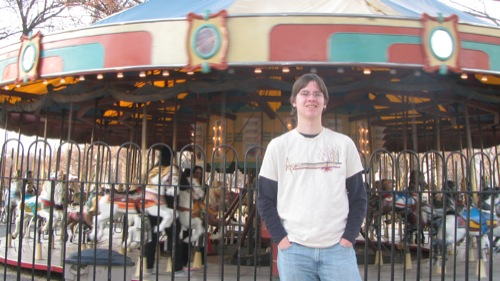 Keel, merry go round on the Mall