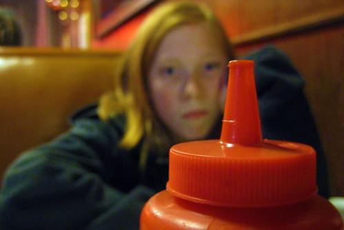 Ketchup at Matt's Bar