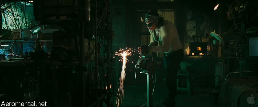 Iron Man 2 Trailer 2 Ivan Vanko welding