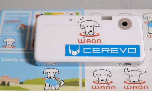 waon cam! CEREVO CAM with stickers