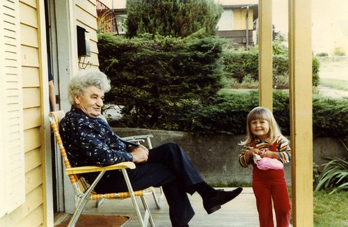 The Everywhereist with her grandfather, circa 1983.