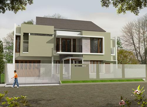Desain Rumah Minimalis Modern Proyek Cilandak