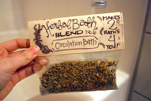Handmade Herbal Bath Blend