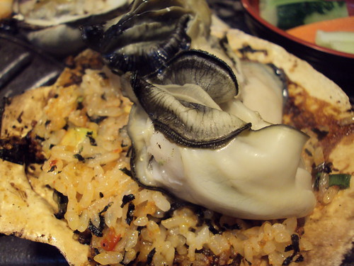 Mussels with rice/Nori